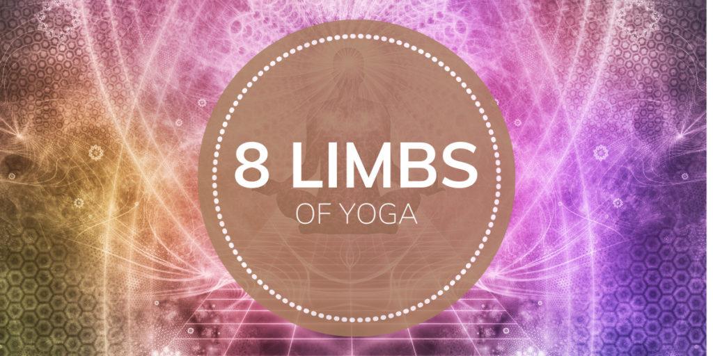 Header 8 limbs of yoga