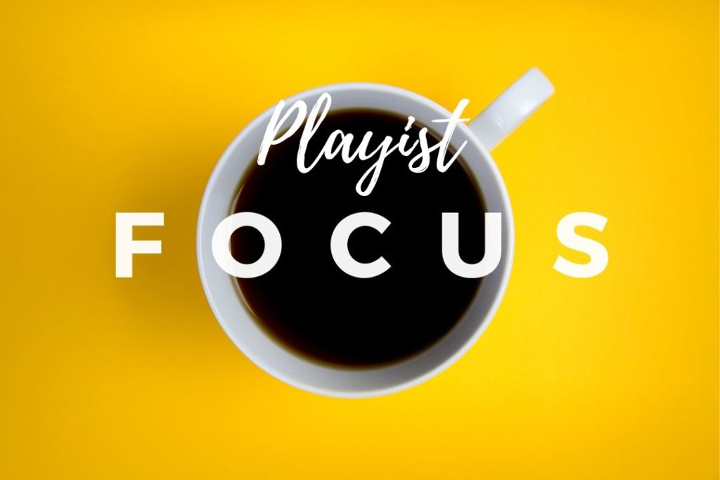 Header Spotify - Focus playlist - Website